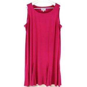 New Julian Taylor Women's Shift Dress Pink